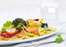 Fish and vegetables in curry sauce 400g