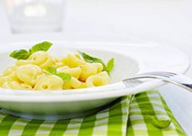 Pasta and vegetable casserole with cashewnuts 400g
