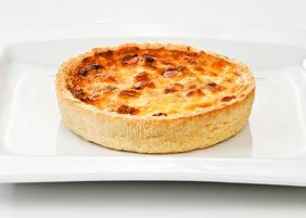 Ham and cheese quiche 140 g